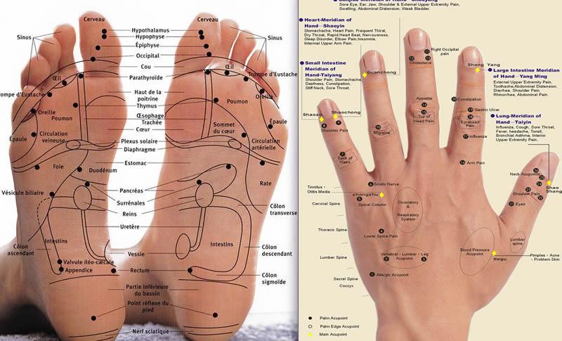 Douleur de règles et soulagement par l'acupuncture.